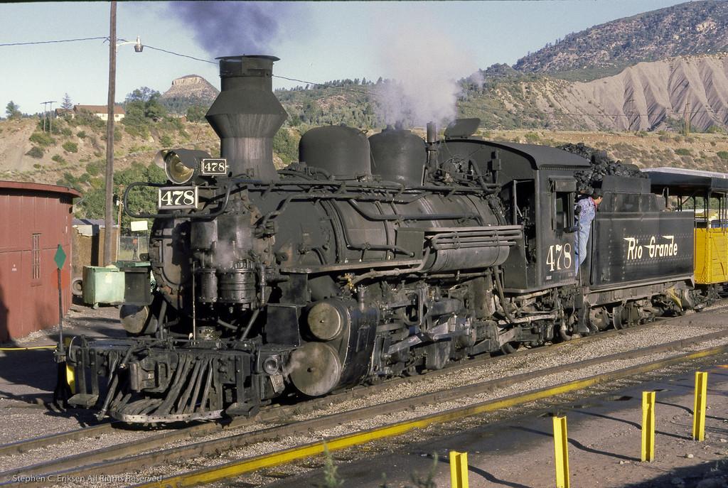 80-09-00 D&RGW Durango Yards Sept 1980 0086
