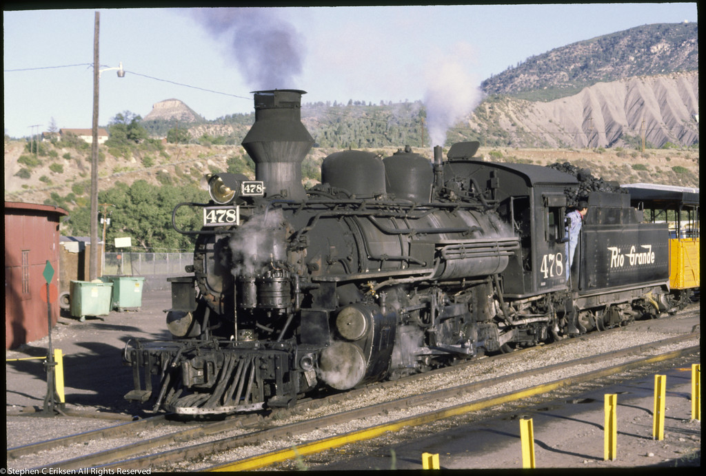 D&RGW Durango Yards Sept 1980 0087