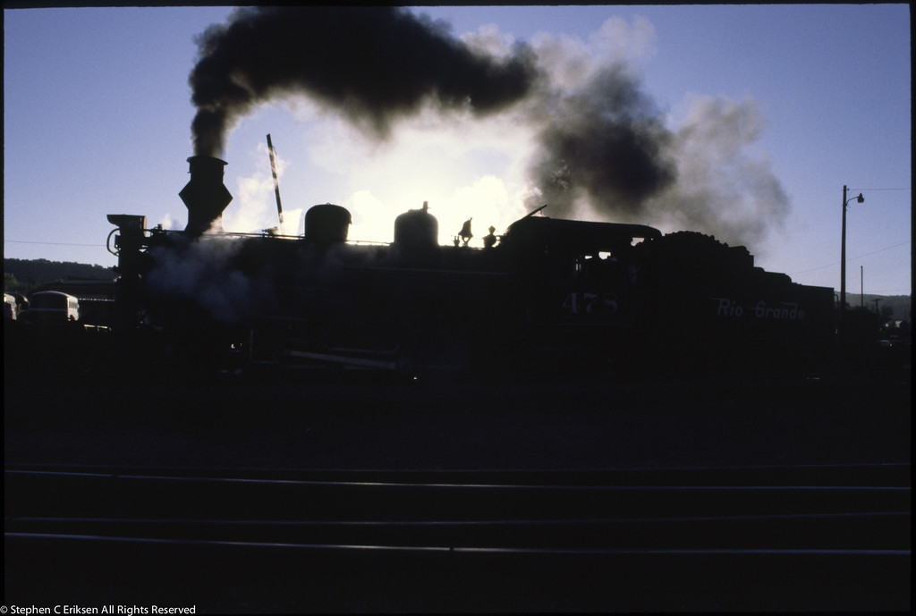 D&RGW Durango Yards Sept 1980 0070