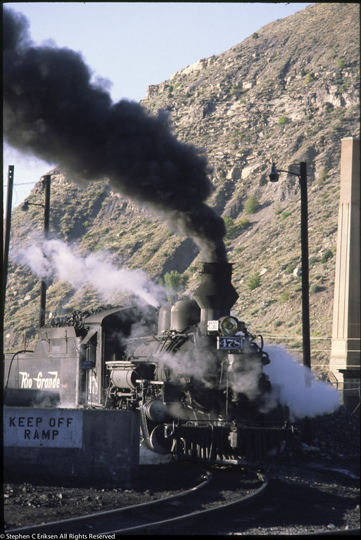 D&RGW Durango Yards Sept 1980 0076