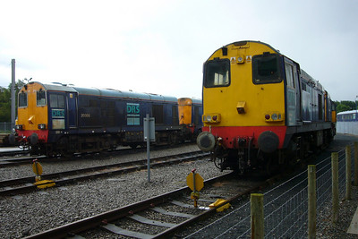 20305, 20301 Max Joule, 20315 and 20313 at Kingmoor.