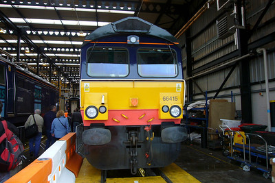 66415 sits in road 1 of the shed.