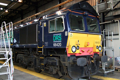 66420 in the shed, 11/07/09.
