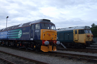 47790 alongside 50049 Defiance, 11/07/09.