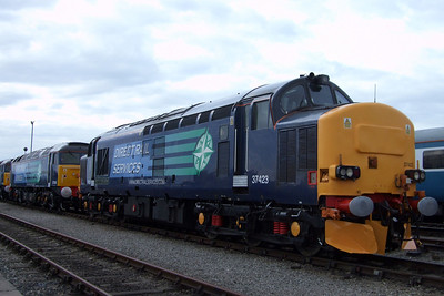 37423, newly named Spirit of the Lakes, 11/07/09.