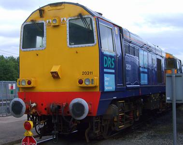 "20311 Class 20 ""Fifty"", 11/07/09."