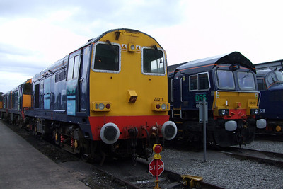 20311 (with 20302 and 20303 behind) and 66431, 11/07/09.