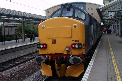 37423 upon arrival at Bradford Forster Square.