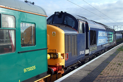 37423 Spirit of the Lakes in York platform 11 with Caroline.