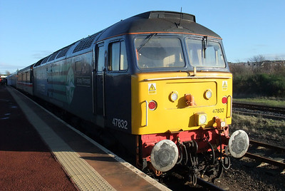47832 sits at Maryport, 30/11/09.