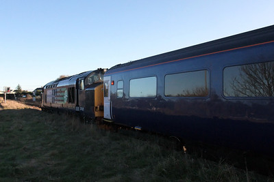 37423 Spirit of the Lakes at Maryport, 30/11/09.
