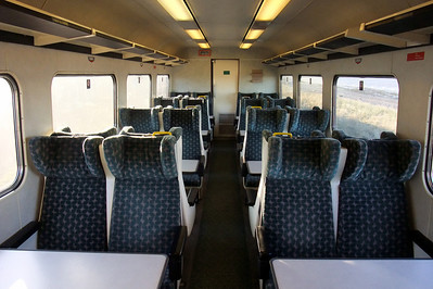 Interior of West Coast Railways' Mk. 2E BSO. 30/11/09.