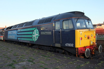 47832 Solway Princess, on the rear of the train, at Workington, 30/11/09.
