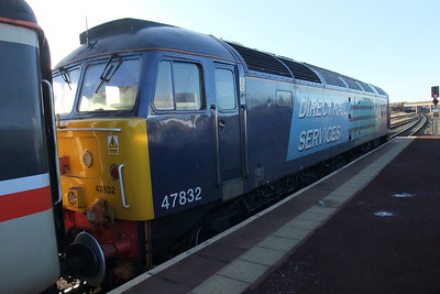 47832 Solway Princess at Maryport. 30/11/09.