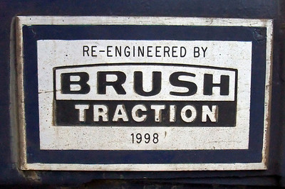 Brush Traction plaque, affixed to 57003, 05/02/10.