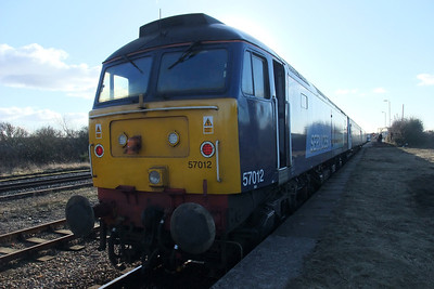 57012 at Maryport's single platform, 10/02/10.