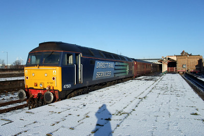 47501 Craftsman catches the sun at Workington, 06/01/10.