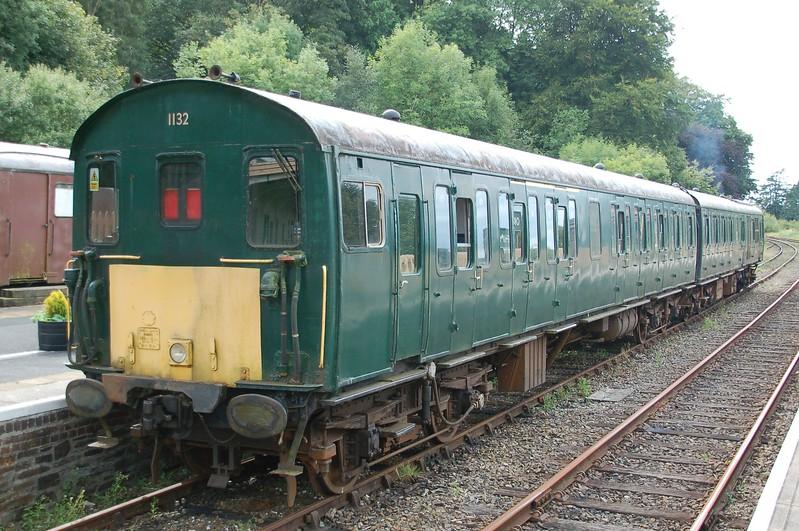 Demu 1132 (S60831 & S60150) - Okehampton, Dartmoor Railway - 2 September 2017