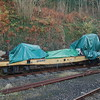 Flat Wagon 161017 WD80355 - Kingswear, Dartmouth Steam Railway - 30 November 2016