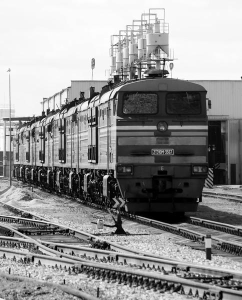 Latvia's main locomotive works
