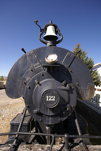 Anaconda Copper Mining Company #122 on display in Butte, MT.