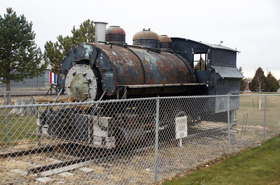 Great Western #29 on display in Mitchell, NE.