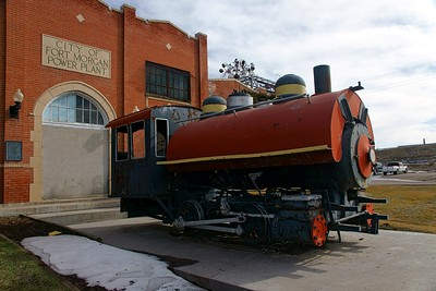 Great Western #41 on display in Fort Morgan, CO.