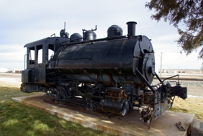 Great Western #2121 on display in Sterling, CO.