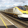 Eurostar PC 3018 heads a service from London Waterloo as it passes Herne Hill on 15th August 2007