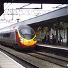 A Pendolino set arriving at Nuneaton with a London-bound service on 6th September 2007