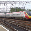 A Pendolino set arriving at Crewe with an Up service on 11th September 2006