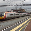 Unidentified Pendolino passing Rugby on the Down road on 12th July 2007