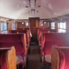 Inside LMS bogie Third class gangwayed vestibule coach no 27249