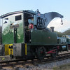 Dubs crane tank at Dilhorne Colliery on October 21st during the 2012 Foxfield Steam Gala.