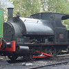 "Peckett 0-4-0 saddle tank special OY class built 1947, number 2081 ""No 11""  at Caverswall Road"