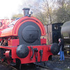 Bagnall 0-4-0 saddle tank, number 2842 built 1946 at Caverswall Road