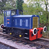 "Bagnall 0-4-0DH built 1961, number 3207 ""Leys"""
