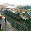 7820 'Dinmore Manor' at Bishops Lydeard on a wet 25th August 1999