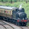 1450 running as 1401 - Norchard, Dean Forest Railway - 30 June 2012