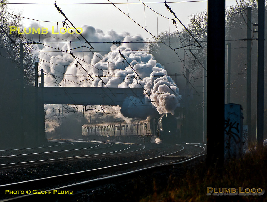 """60009 """"Union of South Africa"""", Brookmans Park, 1Z45, 8th December 2012"""