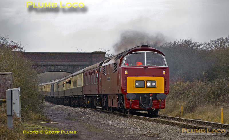 "D1015 ""Western Champion"", Grendon Underwood, 1Z52, 14th December 2013"