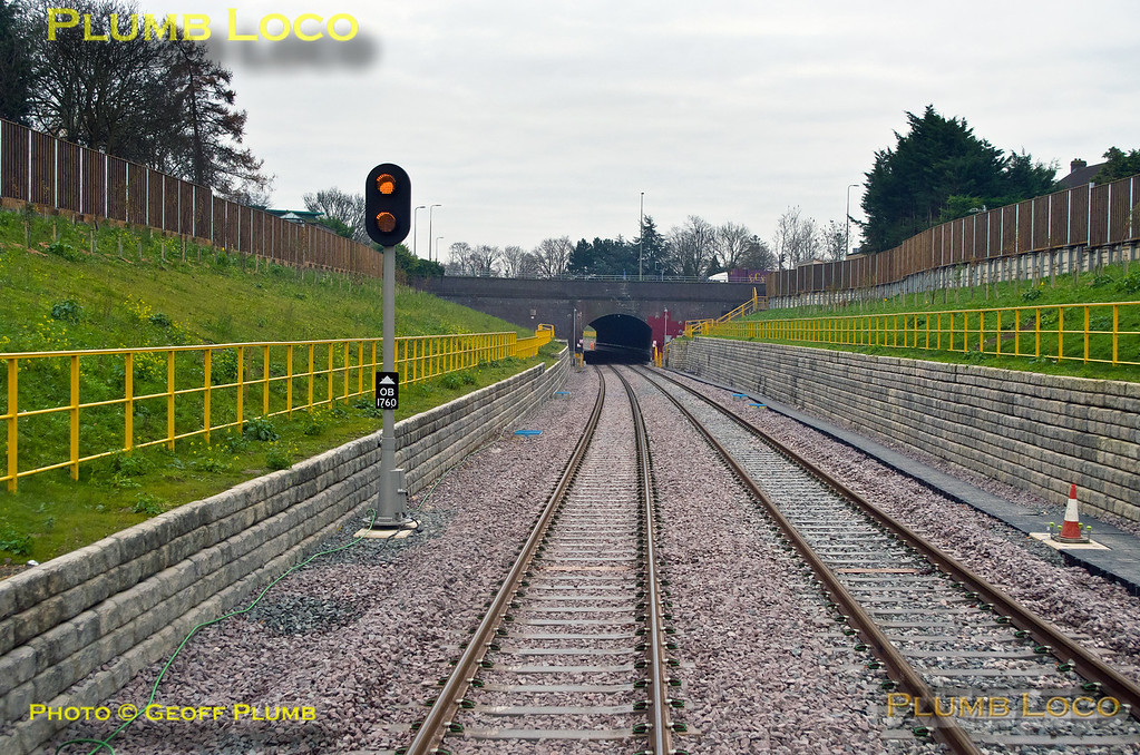 PoV 168 323, Signal OB1760, Wolvercote Tunnel, 5Z20, 2nd December 2016