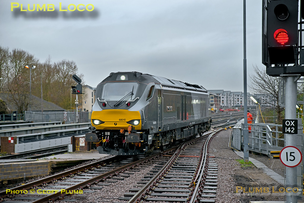 68010, Oxford Platform 2, 0Z01, 12th December 2016