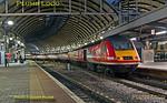 43274, Newcastle Platform 2, 1Y16, 17th December 2017