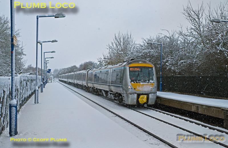 168 109, Haddenham & Thame Parkway Station, 1H12, 10th December 2017
