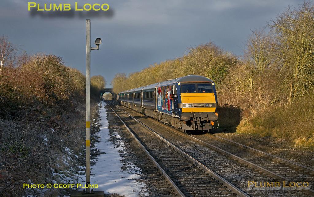 82302 Xmas DVT & 68015, Haddenham, 1Z12, 16th December 2017