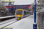 168 108, Haddenham & Thame Parkway Station, 1T23, 10th December 2017