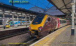220 002, Newcastle Platform 3, 1V93, 16th December 2017