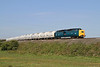 55022 Crawls Around The Curve At Woodhorn on the 09.25 North Blyth-Lynemouth Trip on Sat,30-4-2011.
