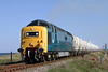 Royal Scots Grey,Departs North Blyth With the 17.54 Loaded Tanks to Lynemouth on a Sunny Tues,3-5-2011.
